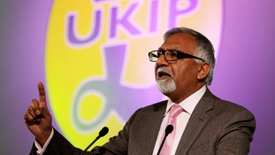 Former senior Ukip MEP Amjad Bashir dismissed his former party's move as a 'desperate attempt' to smear him