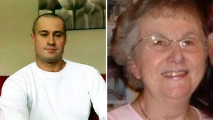 Leo Barnes (left) was accused of the murders of Cynthia Beamond, 80, (right) and Philip Silverstone, 67.