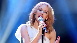 Kylie Minogue has just been named 'Australian Of The Year in The UK'.