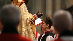 Archbishop of York, Dr John Sentamu ordains Rev Lane.
