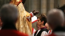 Both of Cumbria's bishops attended the consecration of Bishop Lane