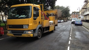 Work begins for the Residents Parking Scheme