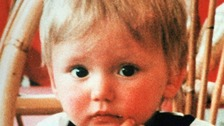 Ben Needham who went missing from the Greek island of Kos 24 years ago