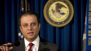 U.S. Attorney Preet Bharara announced the case alongside the FBI