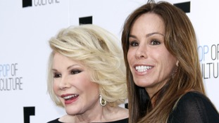 Joan Rivers with her daughter Melissa