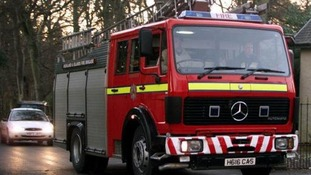 The fire was extinguished by the Fire and Rescue Service