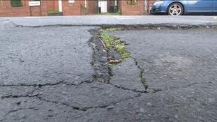 Potholes cost Wiltshire £120,000 last year