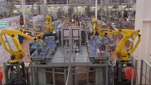 Much of the production line at Refresco Gerber is automated