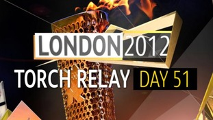 Olympic Torch Relay : Day 51