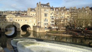 Pulteney Weir in Bath