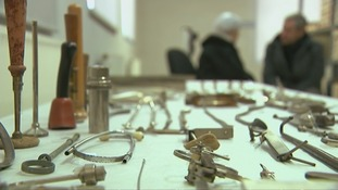 Mengele's equipment has been painstakingly archived and preserved.