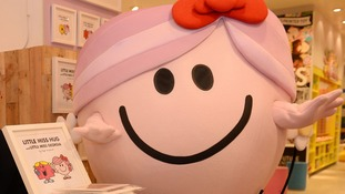 Little Miss Hug recently created by Roger Hargreaves son Adam