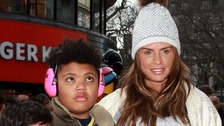 Katie Price's team have released a statement after a row over Harvey's schooling costs broke out