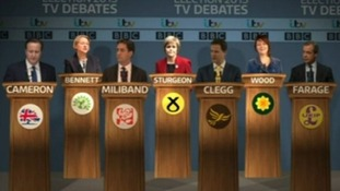 All seven party leaders will be invited to take part in debates on ITV and the BBC
