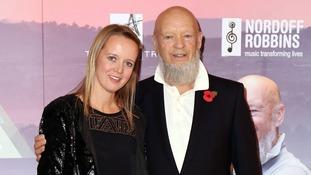 Festival organisers Emily and Michael Eavis