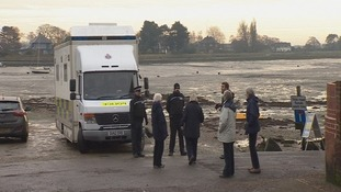 Detectives investigating Sussex murder use mobile DNA screening unit