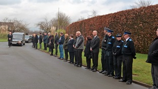 Funeral for RAF hero after appeal for mourners