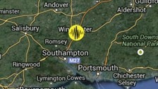 Earthquake in Winchester