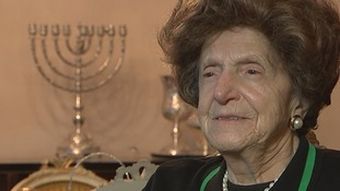Bertha Klein was a teenager when she survived the Holocaust.