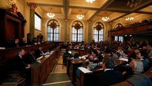 Lancashire County Council meeting on fracking