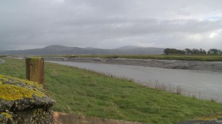 The current view of Wigtown Bay