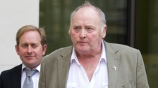 File photo dated 14/04/14 of abattoir owner Peter Boddy (right).