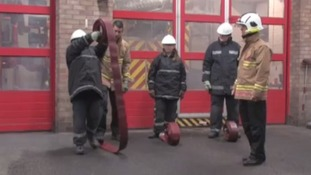 Overweight children get fat fighting tips from firefighters