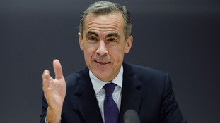 The Governor of the Bank of England Mark Carney speaking last year.