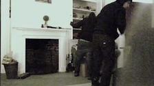 Burglary CCTV