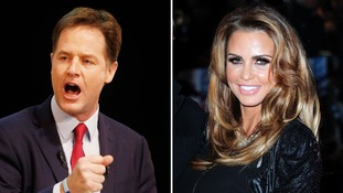 Clegg defends Katie Price over Harvey transport row