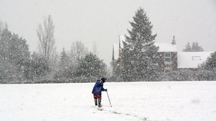 A snowy Thursday for many but not for all