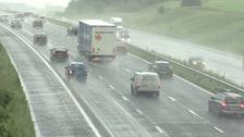 M1 motorway in South Yorkshire