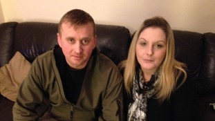 Jamie and Charmaine are currently living in temporary housing provided Cornwall Council