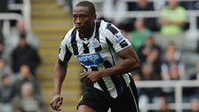 Ameobi has joined up with Ex-Newcastle manager Alan Pardew at Palace