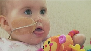 Doctors thought Harmonie-Rose Allen wouldn't survive
