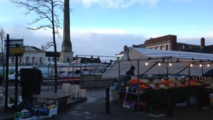 Market Day continues as usual in Ripon