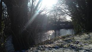 The river near Durham rowing club