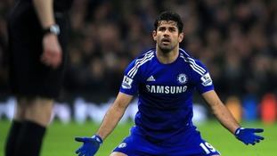 Costa is Chelsea's leading scorer this season.