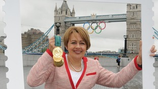 Stamp honour for Paralympic gold medal winners