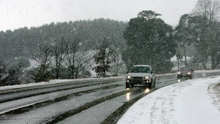 Drivers warned about dangerous roads as big freeze grips UK