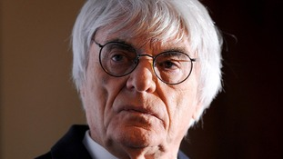 F1 magnate Bernie Ecclestone was reportedly told not to turn up because of the weather conditions.