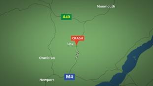 A449 crash
