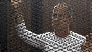 Peter Greste released from prison and on way home to Australia