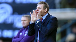 Stuart Pearce during his time in charge at Nottingham Forest