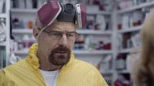 Breaking Bad's Walter White makes a return for the first time since the series ended.