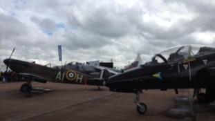 Spitfires at Fairford
