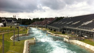 Lee Valley White Water Centre in Waltham Abbey