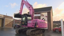 The pink digger