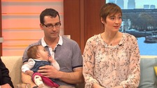 Three-parent families