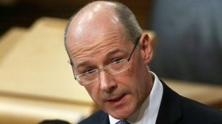 Scottish Finance Secretary and Deputy First Minister, John Swinney